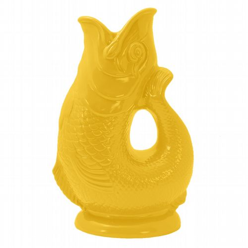 Gurgling Ceramic Jug - Yellow